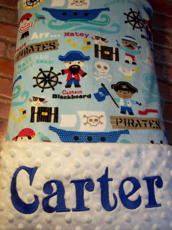 Blanket baby gift shower personalized
