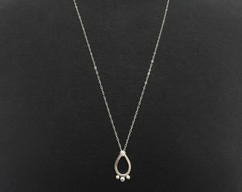 Paisley Drop Necklace