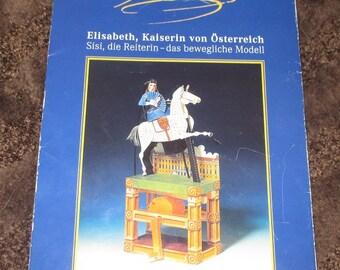 Sisi - Kaiserin Elisabeth Paper Modell
