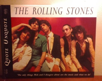 The Rolling Stones QUOTE UNQUOTE book