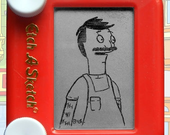 Bob's Burgers Preserved Pocket Etch A Sketch