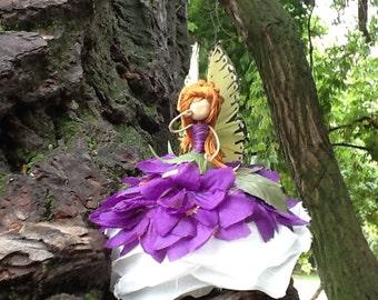 purple Fairy Doll, bendy doll