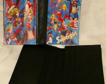 Supergirl card holder