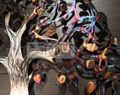 11th Anniversary Heated Stainless Steel Infinty Tree Of Life