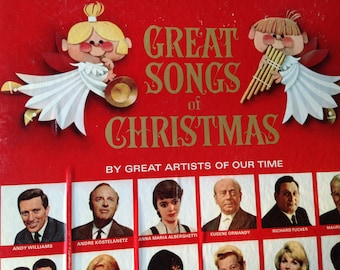 Great Songs of Christmas By Great Arttist of Our Time - vinyl record