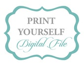 Purchase the PRINT YOURSELF digital file for ARTWORK