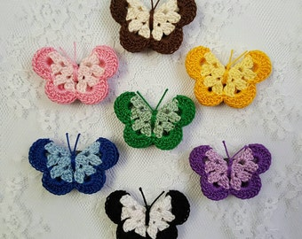 Two-Tone Butterfly Magnet
