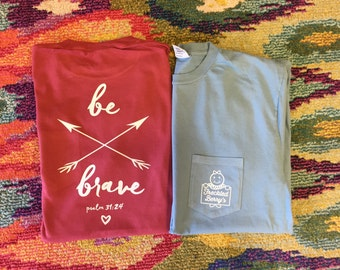 Be Brave Arrow Freckled Berry's Shirt