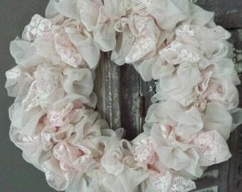 Shabby Vintage wreath