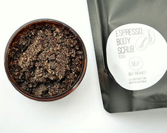 Organic Espresso Coffee & Sugar Body Scrub 150g