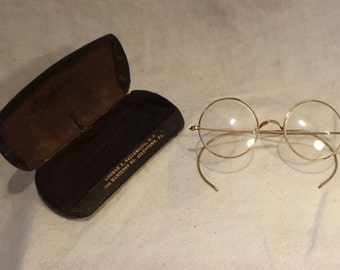 Glasses, Vintage Spectacles, Harry Potter, Antique Eyeglasses