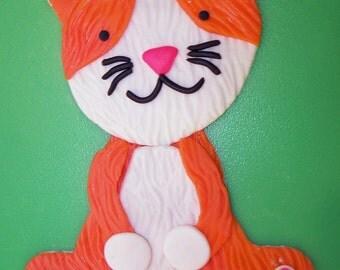 """6"""" Cat Cake Topper"""