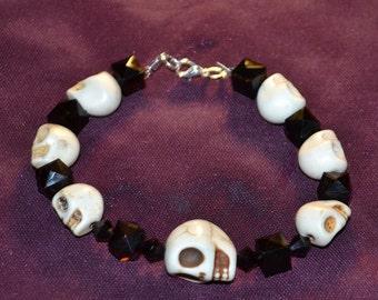 chunky skull bracelet