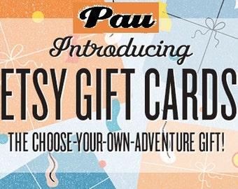 Pau gift card