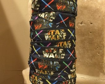 5 YDS Star Wars FOE Elastic Ribbon