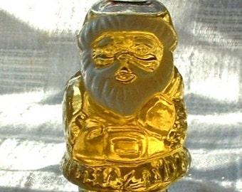 1978 Vintage Avon TOPAZE Cologne Christmas JOLLY SANTA Bottle 1 Ounce New Old Stock