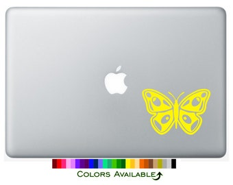 Pretty Butterfly Laptop Decal
