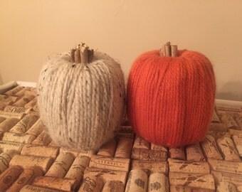 Yarn & Twig Pumpkins