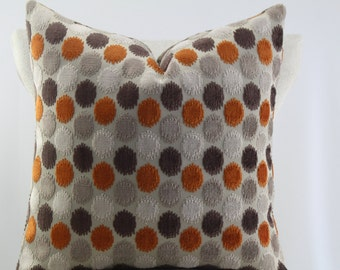 Persimmon velvet by Duralee multi color velvet pillow cover,accent pillow decorative pillow,lumbar pillow,throw pillow.