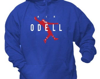"Odell Beckham Jr ""Air Odell"" Hoodie Sweat Shirt New York Giants"