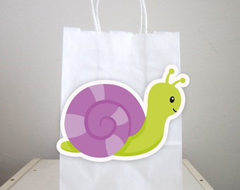 Bug Goody Bags, Snail Goody Bags, Bug Favor Bags, Bug Party Bags, Bug Favors