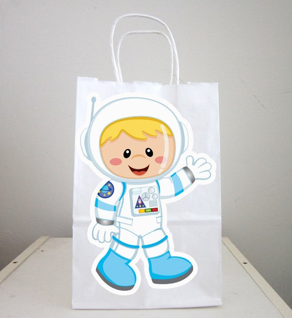Space Party Goody Bags, Astronaut Goody Bags, Space Goody ...