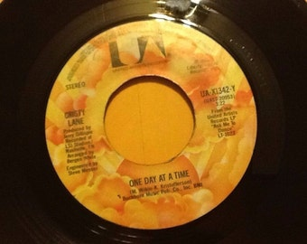 Christy Lane One Day At A Time / I Knew The Mason ~ rare 1980 vintage 45