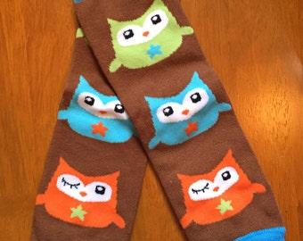 Boy owl legwarmers