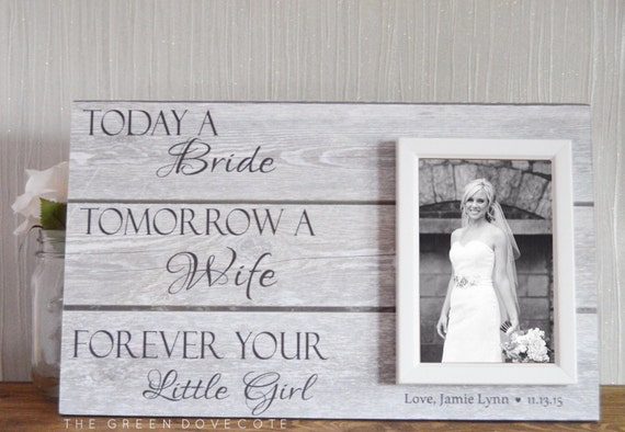 Wedding Present For Father Of The Bride : Of The Bride GiftFather Of The Bride GiftParents Wedding Gift ...