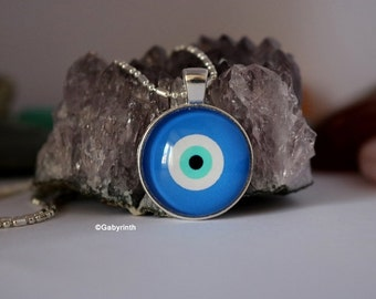 Nazar Evil-Eye Protection Pendant