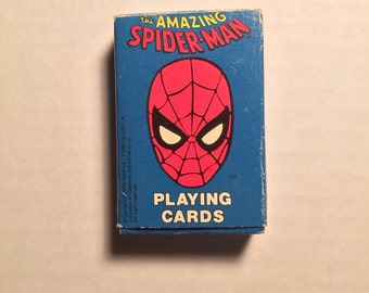 Spider-Man Comic Book Playing Cards 1979. Vintage RARE!