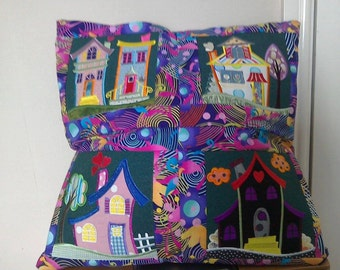 Houses large cushion cover