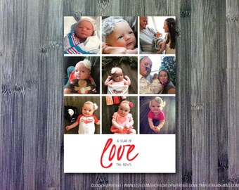 Year of love Photo Holiday Card | HC30
