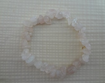 Rose Quartz Stretch Bracelet