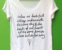 5 Seconds of Summer Song lyrics So Close But So Far Aways unisex adults clothings