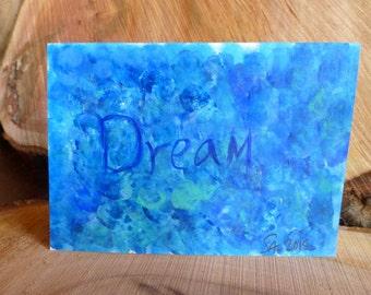 Dream- Hand Drawn Cards