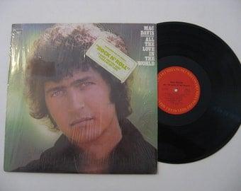 Mac Davis - All The Love In The World - 1975