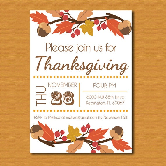 Astounding image in printable thanksgiving invitations