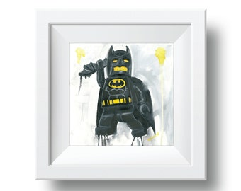 Batman Black Print