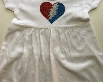 Items similar to Grateful Dead Baby esie