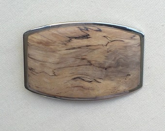 Wood Belt Buckle