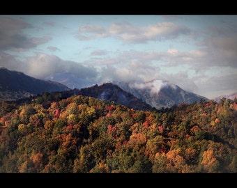 Smokey Mountain Fall Sunrise