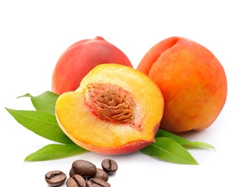 Peaches and Cream Flavored Coffee, Fresh roasted coffee