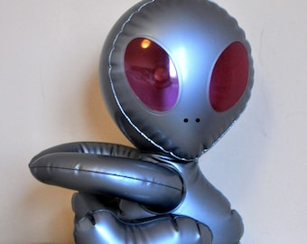 Inflatable alien - 1990's - Cool decoration from outer space!