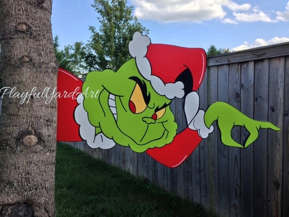 The Grinch Tree Peeker Christmas Decoration