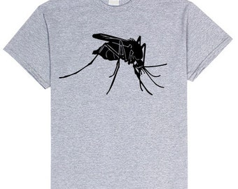 MOSQUITO Bug T Shirt Unisex sizes small- 4XL Unisex Insect Tshirt Comfy Bugs Tee t-shirt