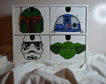 Star Wars Handpainted Set of Drawers