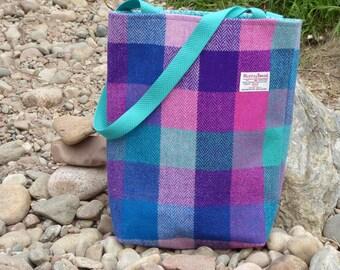 Tote, Shopper, Market Bag in Harris Tweed