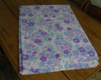 Vintage Flowery Single Bed Sheet