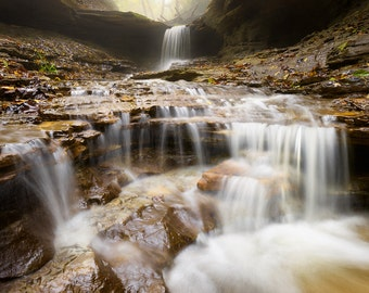 Menomonie Wisconsin Photography, Tripp Falls, Waterfall Photography, Landscape Nature Photography, UW Stout
